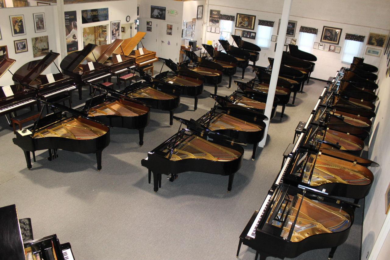 Grand showroom